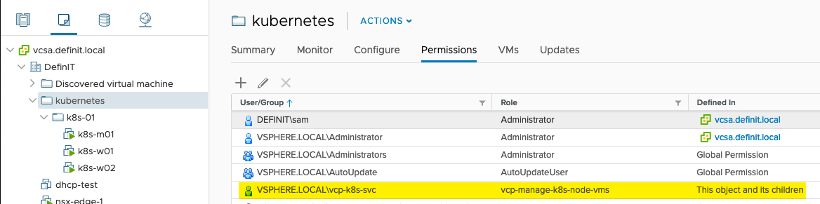 Lab Guide - Kubernetes and Storage with the vSphere Cloud