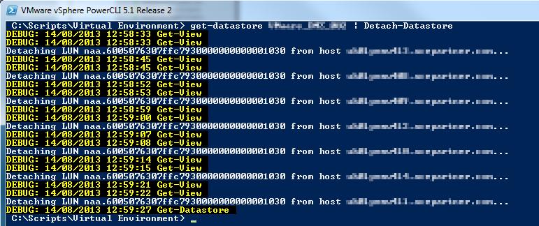 vSphere Basics: Correctly decommissioning a vSphere Datastore · DefinIT