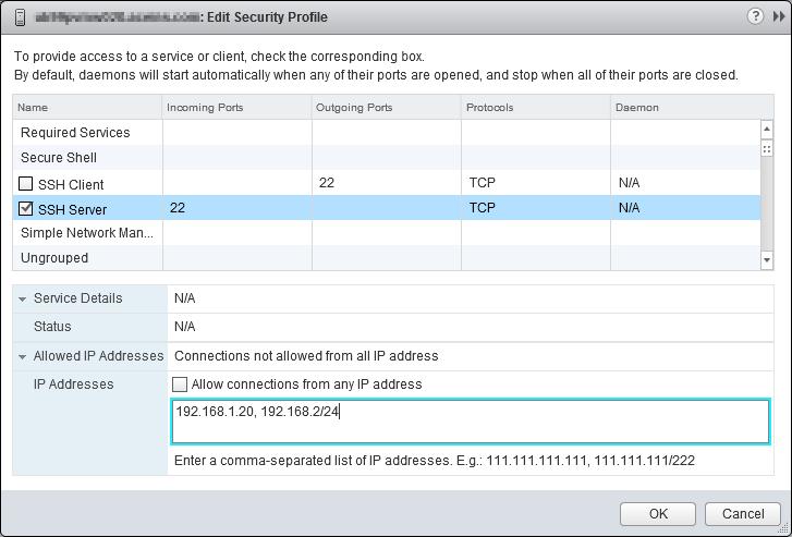 vSphere Security: Advanced SSH Configurations · DefinIT