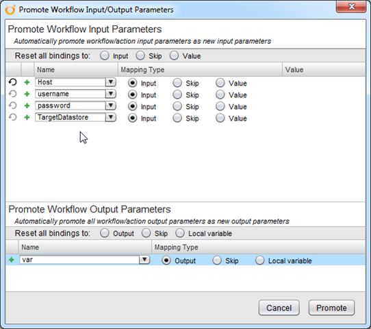 Extending a vCenter Orchestrator (vCO) Workflow with ForEach