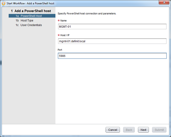 Configuring vCenter Orchestrator (vCO) with PowerShell over