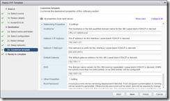 vRealize Log Insight - Configure the network settings