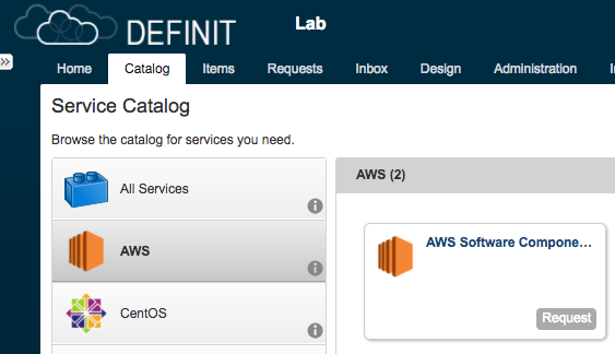 Deploying to AWS with Software Components on vRealize