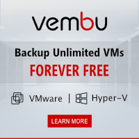 Vembu - Backup unlimited VMs, free, forever!